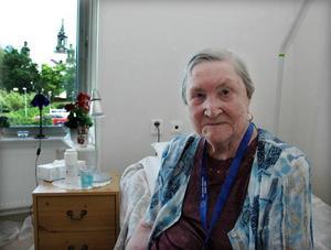 NYINFLYTTAD. Anna Persson har bara bott i sin lägenhet i någon timme när Arbetarbladet hälsar på.