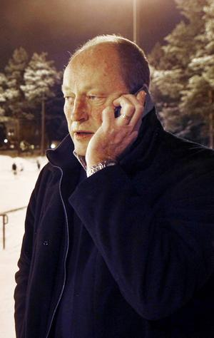 Mats Portinson, ordförande för Östersund Bandysällskap.