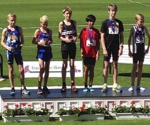 Markus Pihl, Strand, tog brons på 600 meter.