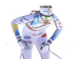 Stina Nilsson tvingas avbryta Ski Tour Canada. Arkivbild.