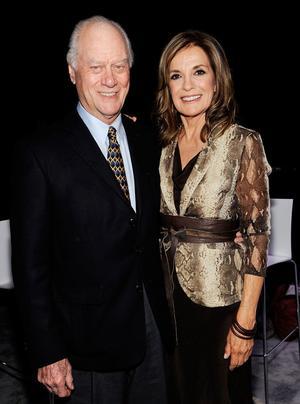 Larry Hagman och Linda Gray, för evigt förknippade som det äkta paret JR och Sue Ellen i