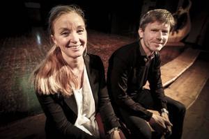 Anna Wersén, vd för Destination Östersund, och Lars Häreblad, Nordanalys.