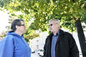 Rias Anna Fäst och Tord Bengtsson från LP-kontakten har en plan.