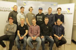 Sveriges främsta juniorförare under uttagningarna till juniorlandslaget.