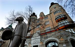 LO-borgen i Stockholm. Foto: TT