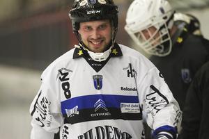 Johan Jansson Hydling stör sig mest på lagkamraten Lars Fall.