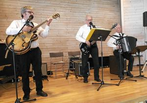 Trion Matolars spelade vid SPF Tuna-Säters senaste möte.