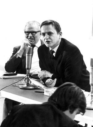 Olof Palme dominerade svensk politik i ett par decennier.