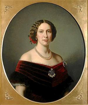 Bruden. Lovisa kom från Nederländerna och var en ganska blyg person. Hon anställde för övrigt Sveriges första kvinnliga tandläkare.