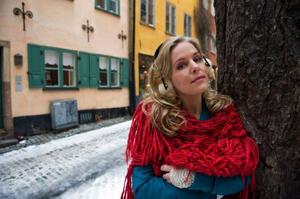 För att få ro till sitt nya album stängde Sofia Karlsson av mediebruset.Foto: Bertil Ericson/Scanpix