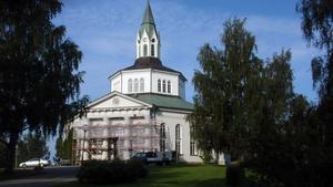 Själevads åttkantiga kyrka,byggd 1876Foto:Åke Westerlind