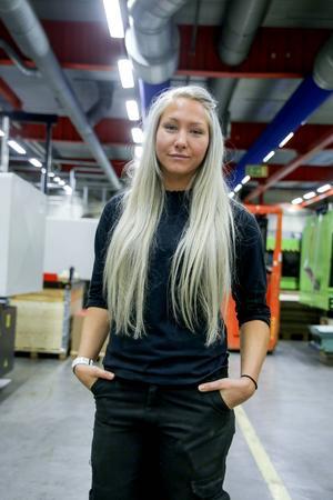 Mathilda Larsson från Edsbyn har hittat rätt i Strand den här säsongen och inlett seriespelet strålande.