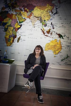Ellen Hyttsten, ny ordförande för Sveriges Konstföreningar distriktet Jämtland-Härjedalen.