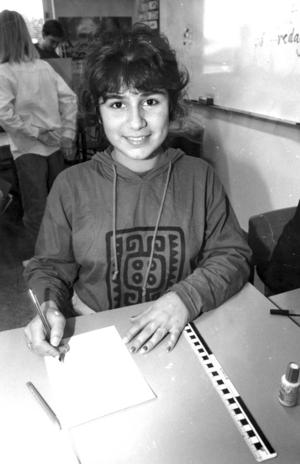 Trifa gick med sin syster Truska 1991 på Västra skolan i Hudiksvall.