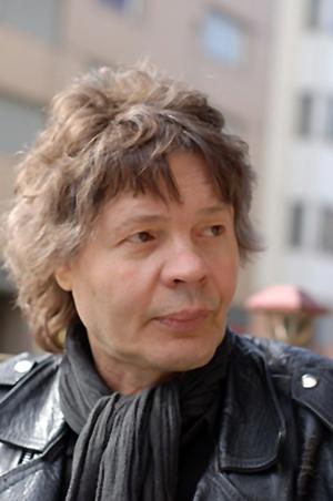 Finlandssvenske poeten Henrik Jansson.