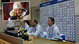 Stina Nilsson kommer att köra i sprintstafetten, avslöjade den medaljsäkre förbundskaptenen Rikard Grip på lördagens presskonferens.