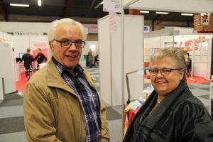 Berend och Hennie Koning åkte från Jädraås för att kolla på grejer på Bomässan i Gävle.