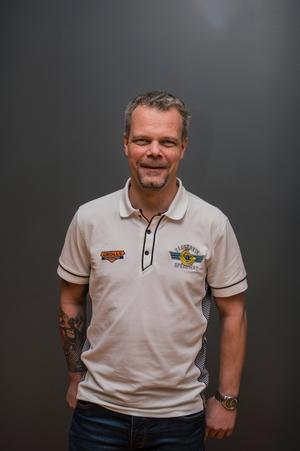 Västerviks lagledare Patrik Hag.