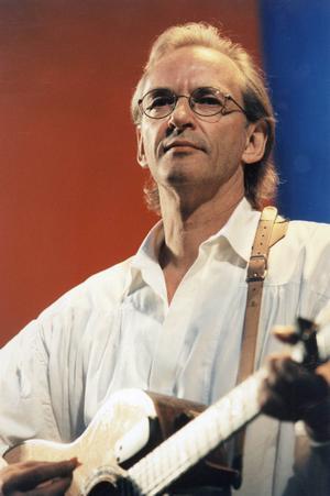 Vännen. Björn Afzelius var Mikael Wiehes vän och musikaliska kompanjon fram till sin död 1999.