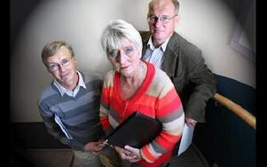 Mats Dahlström, Gunilla Barkar och Dan Westerberg vill locka fler att bli politiker. FOTO: BONS NISSE ANDERSSON