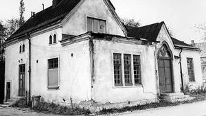 Saneringsobjekt 1969 i Hallstahammar.