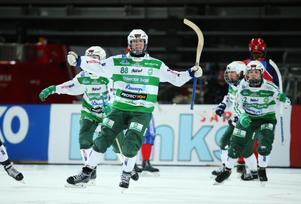 Matilda Plan blev målskytt i SM-finalen mot Kareby i våras. Den här säsongen går VSK för guld.