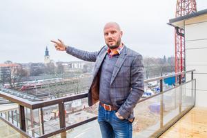 Hudikföretagaren Jon Larsgården leder miljardprojekt i Gävle.