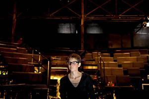 KULTUREN TAR ÖVER. Stina Oscarson på stockholmska Orionteatern regisserar tisdagens kulturmanifestation i Almedalen.