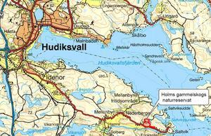 Holms naturreservat.