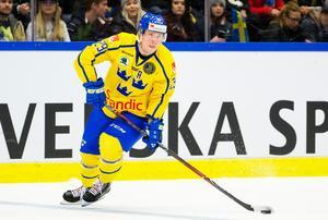 Erik Gustafsson blir kvar i KHL trots allt.Foto: Johan Bernström/Bildbyrån.
