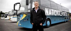 Kjell Nordin, vd för Björks buss.