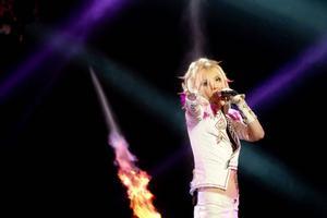 Yohio under Melodifestivalen 2013.