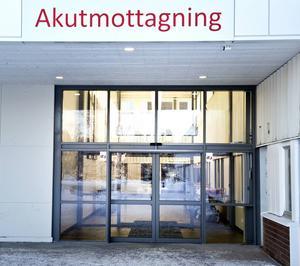 Akuten Sundsvalls sjukhus.
