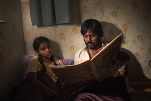 Illayal och Dheepan försöker blir dotter och fader i flyktingdramat