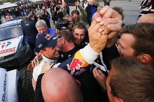 Den 16 oktober 2016 säkrade Mattias Ekström VM-guldet i rallycross.