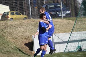 Johan Adamsson gjorde fyra mål i storsegern.