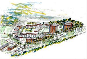 Planen är att 400 lägenheter ska byggas i I5:s gamla motorområde.