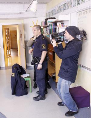 Antonio Jorro-Martinez är en av de poliser i Västerås som följts av ett tv-team.