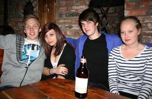Konrad. Andreas, Yasmine, Emil och Sandra