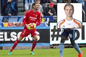 Djurgårdens målvakt Andreas Isaksson skadade sig på uppvärmingen inför derbyt mot Hammarby i måndags. Då blev det snabba ryck för 19-årige Oscar Jonsson (infälld) från Vemdalen som kallades in som reservmålvakt.