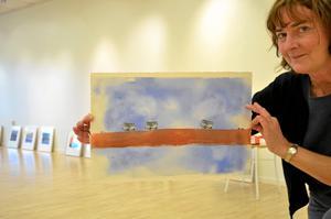 LindeKonstnär. Ann Björk har dubbla utställningar på gång.