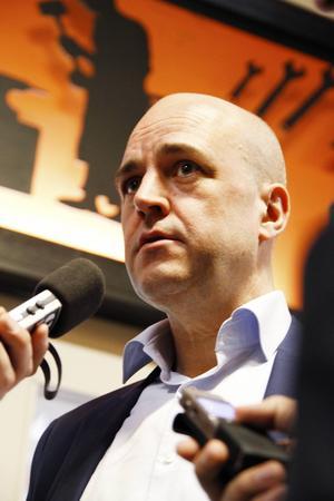 Statsminister Fredrik Reinfeldt