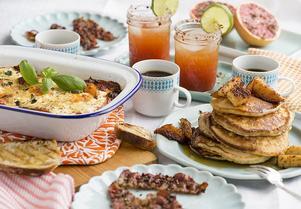Många vill byta ut den traditionella frukosten mot brunch. Foto: Leif R Jansson / TT