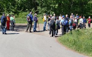35 personer deltog i Friluftsfrämjandets vandring till Lunån.