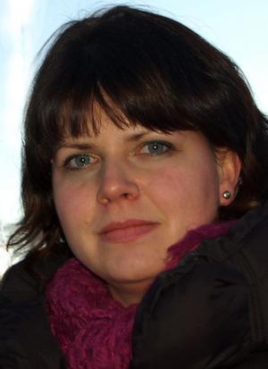Sofia Jarl (C) vill ha ökad polisnärvaro i Gagnef och poliskontor i alla kommuner.