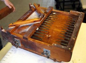 FUNKAR ÄN. Skorpdelaren användes redan av nuvarande ägarnas farfar.