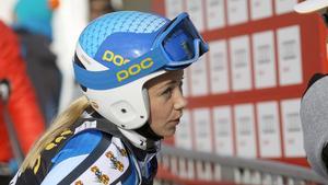 Frida Hansdotter kom på 13:e plats i storslalomen i Lenzerheide.