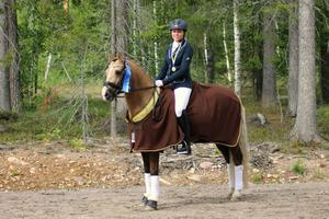 Victoria Avellan-Ryd och Brave Heart, Segersta SR, vann kategori D grupp 2.