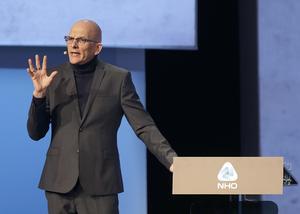 Kjell A Nordström har fått häftig kritik från landsbygdsvänner.