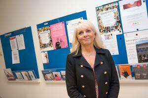Katarina Yng, chef för Arbetsförmedlingen Norra Västmanland.